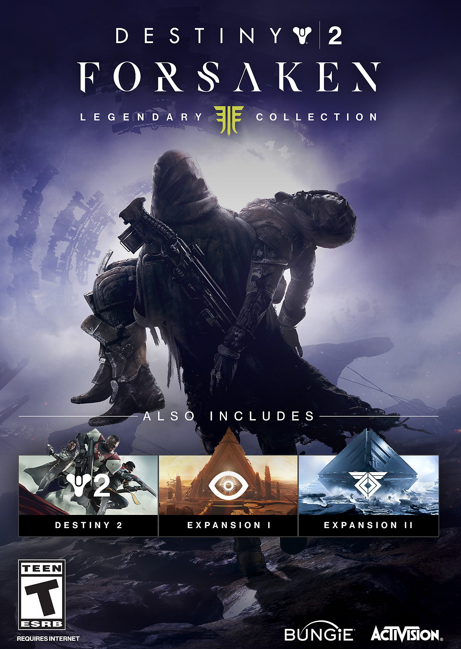 Destiny 2 Forsaken Legendary Collection Art
