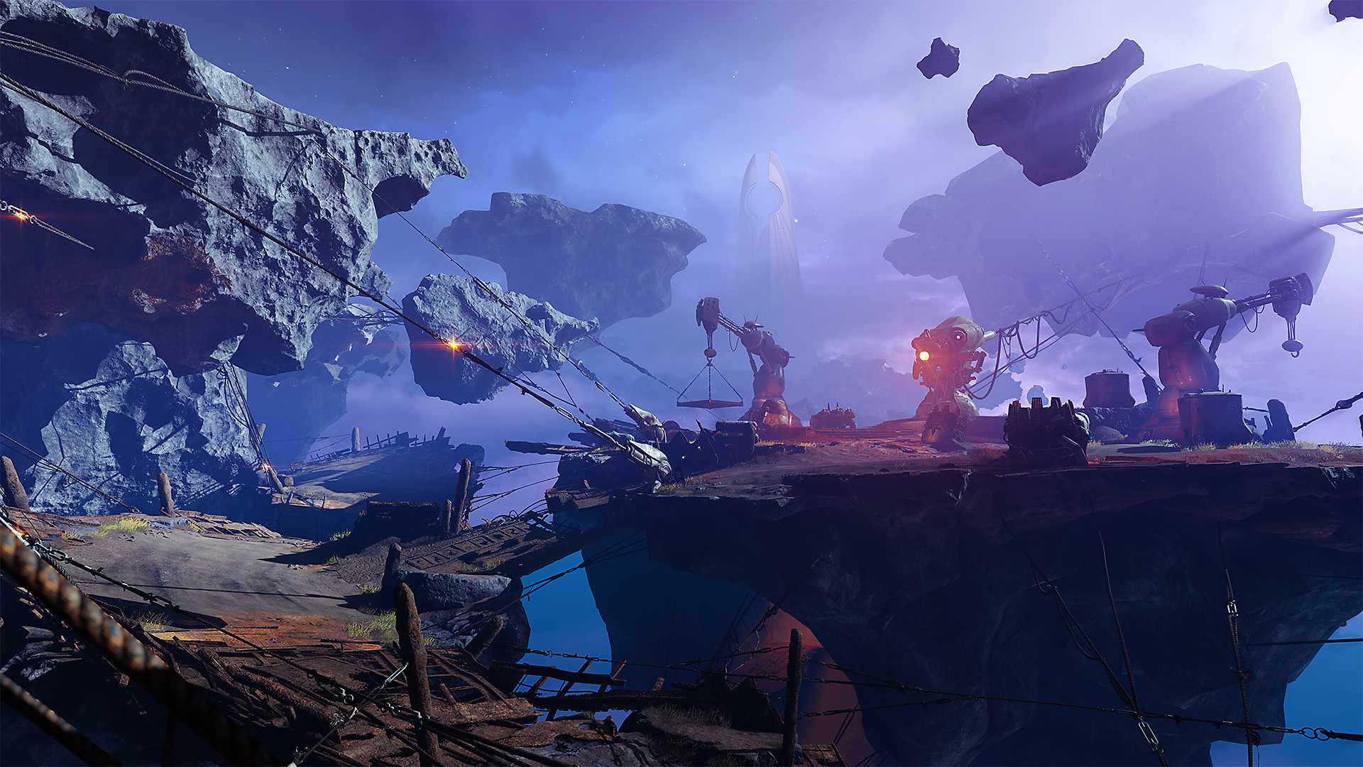 Destiny 2 Forsaken - Tangled Shore screenshot