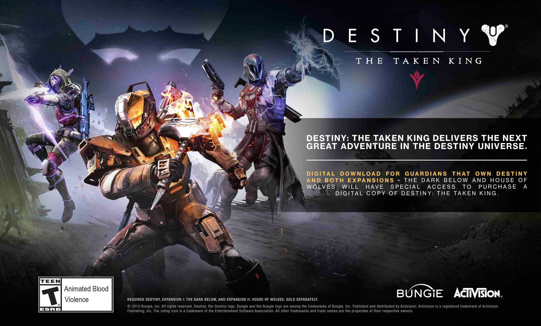 Destiny: The Taken King Game   PS3 - PlayStation