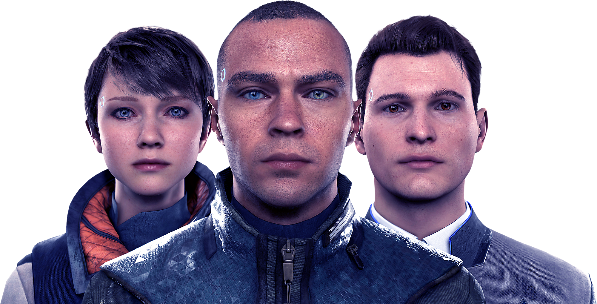 Detroit Become Human Characters