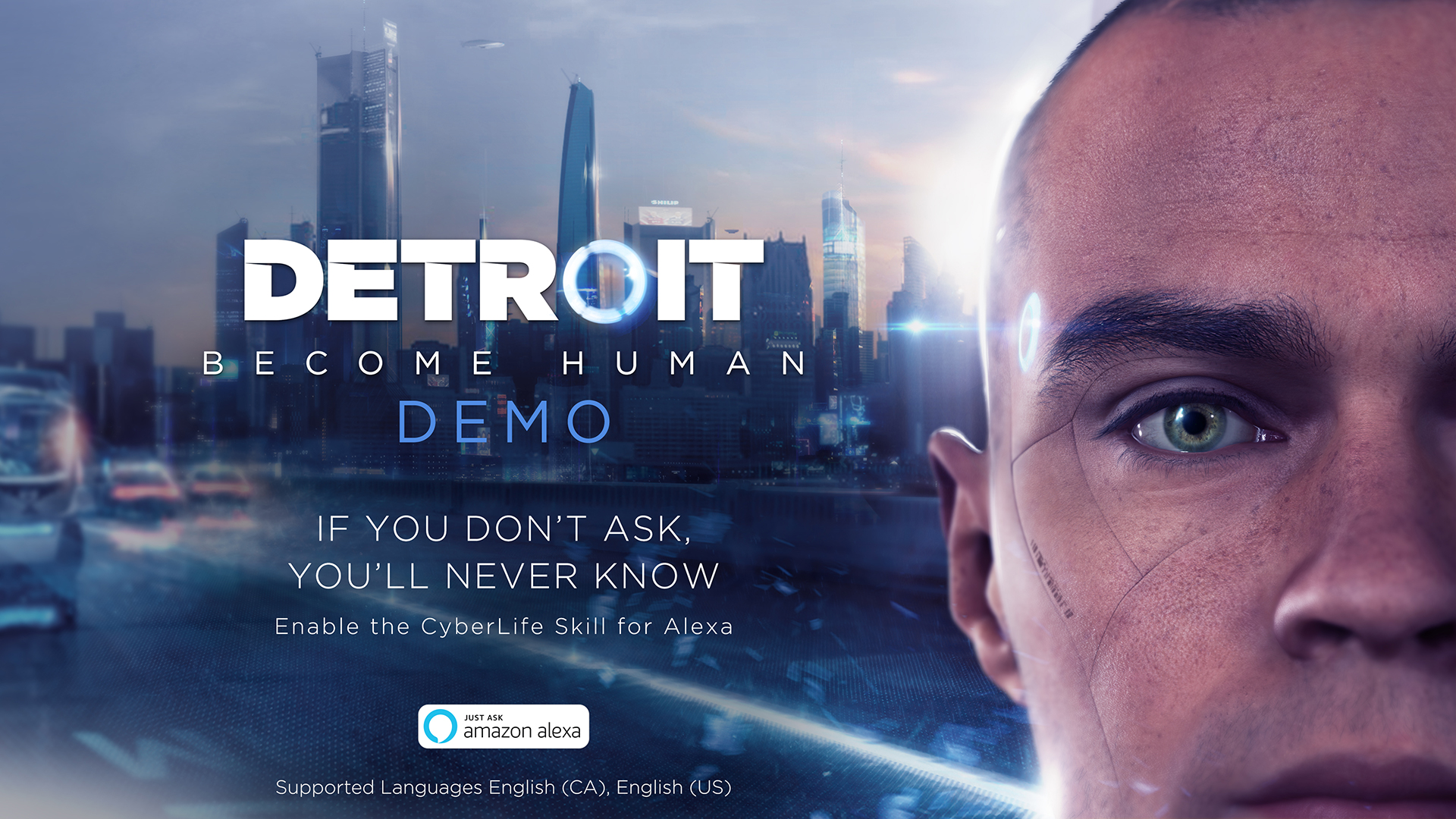 detroit become human demo cyberlife skill for amazon. Black Bedroom Furniture Sets. Home Design Ideas
