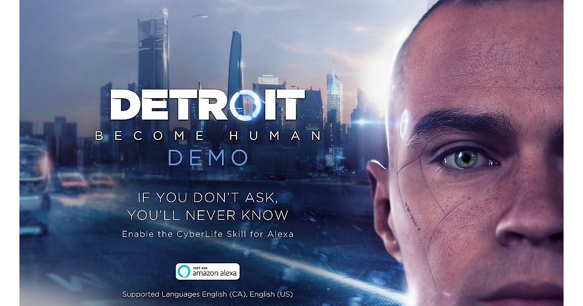 Detroit Become Human Demo Cyberlife Skill For Amazon Alexa