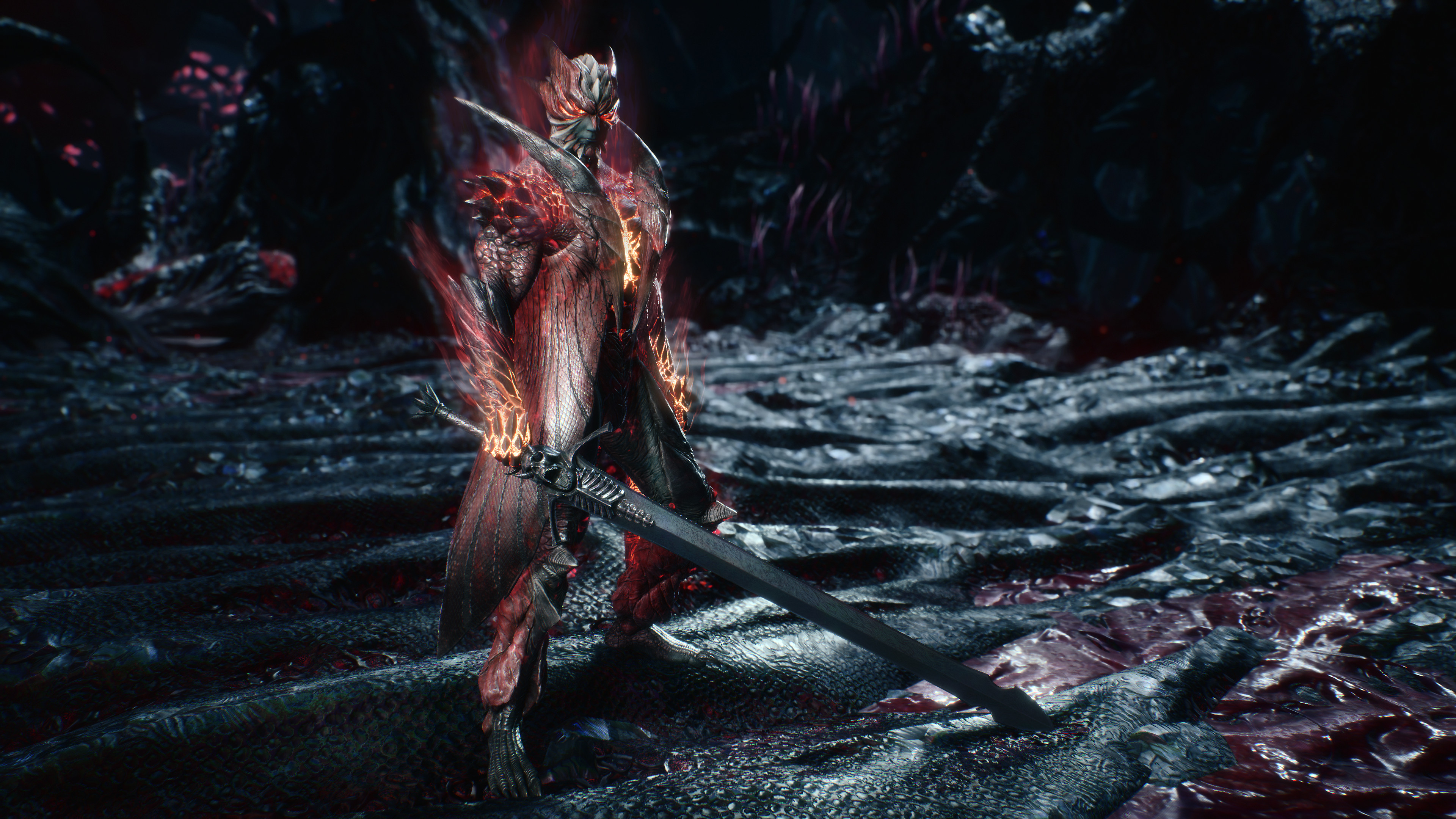 Devil May Cry 5 Stunning Graphics Effects Screenshot