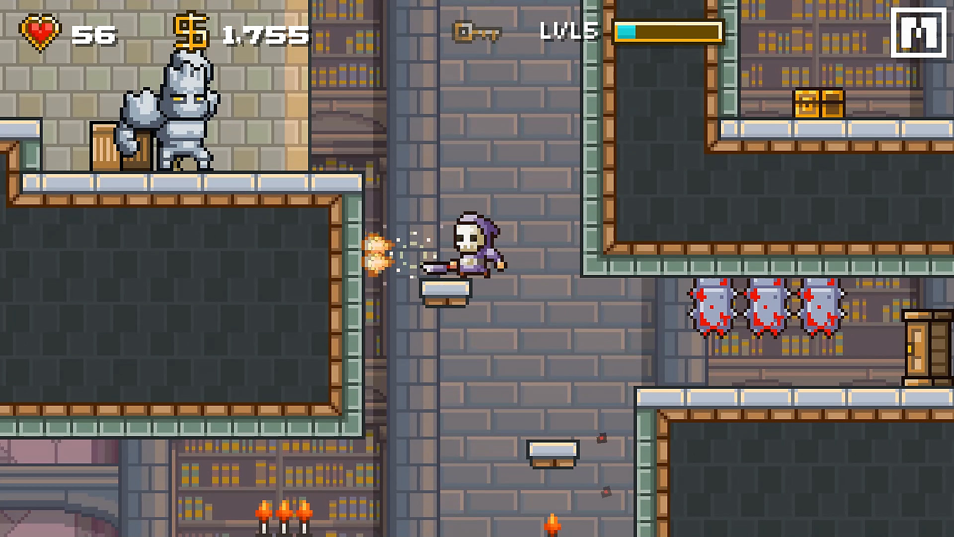 Gameplay de Devious Dungeon 2