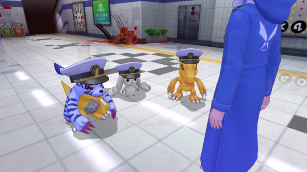 Digimon Story Cyber Sleuth: Hacker's Memory Screenshot 1