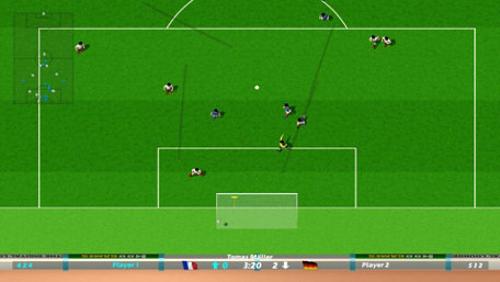 Dino Dini's Kick Off Revival Trailer Screenshot