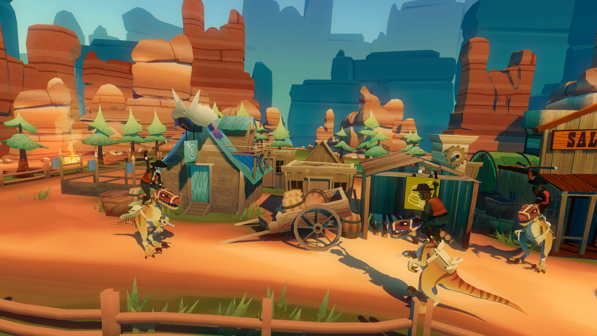 Dino Frontier Game | PS4 - PlayStation