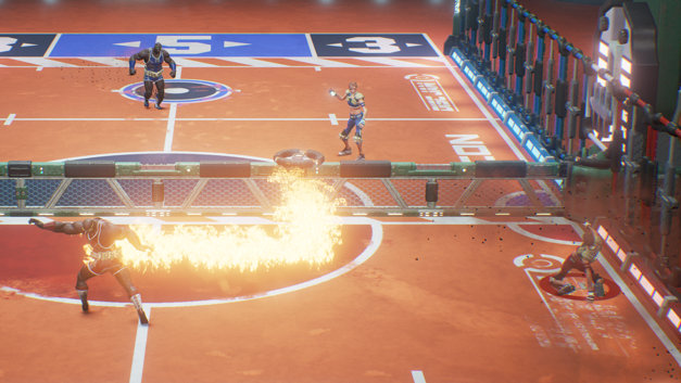 Disc Jam Screenshot 1