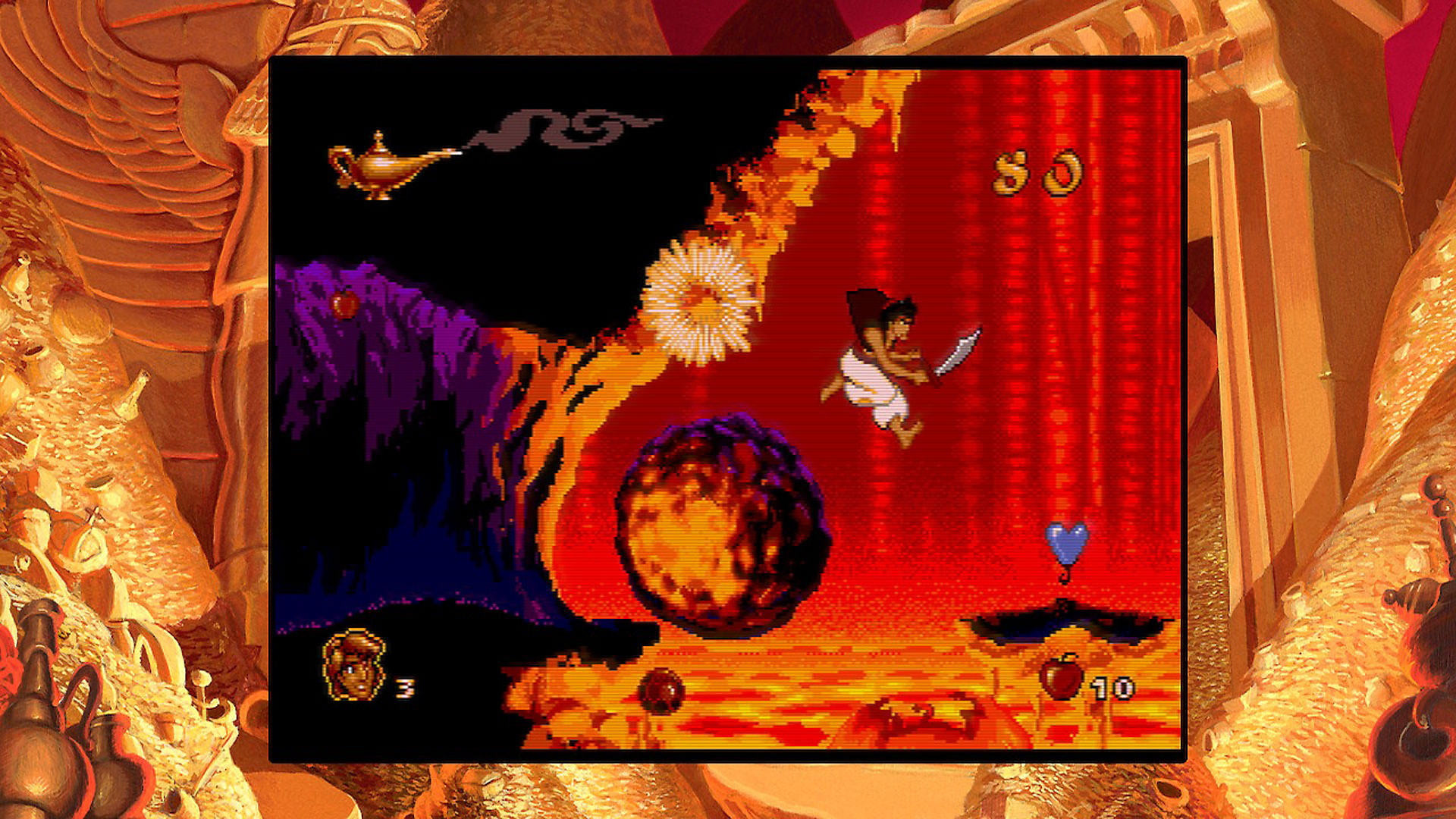 Gameplay de Aladdin