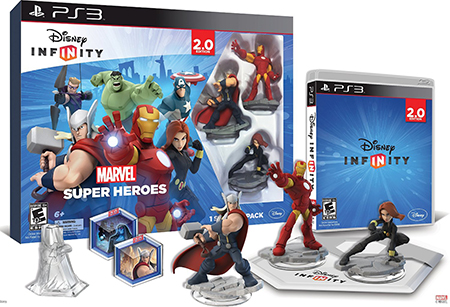 Disney Infinity Marvel Super Heroes 2 0 Edition Game Ps3 Playstation