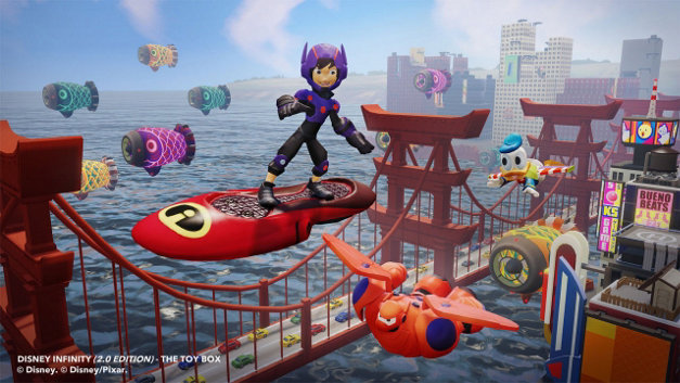 Disney Infinity: ToyBoxStarter Pack (2.0 Edition) Screenshot 1