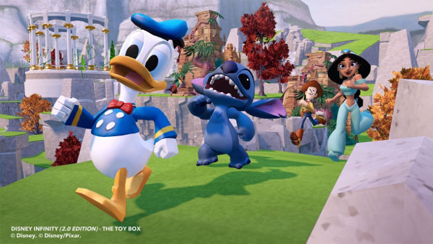 Disney Infinity: Toy Box Starter Pack (2.0 Edition) Screenshot 4