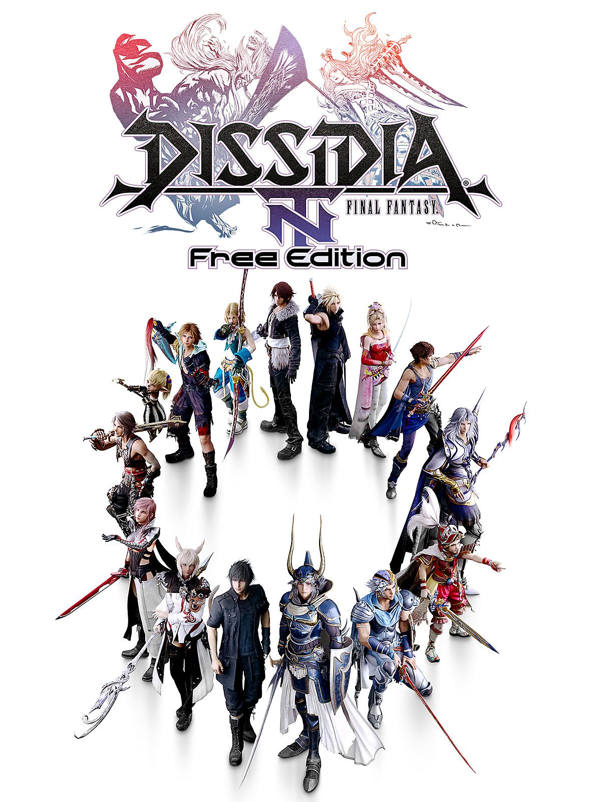 final fantasy dissidia nt free edition