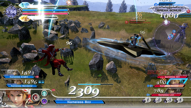 DISSIDIA: FINAL FANTASY NT Screenshot 1