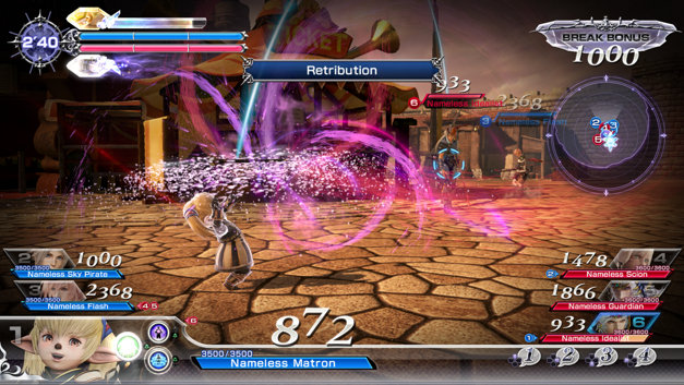 DISSIDIA: FINAL FANTASY NT Screenshot 4