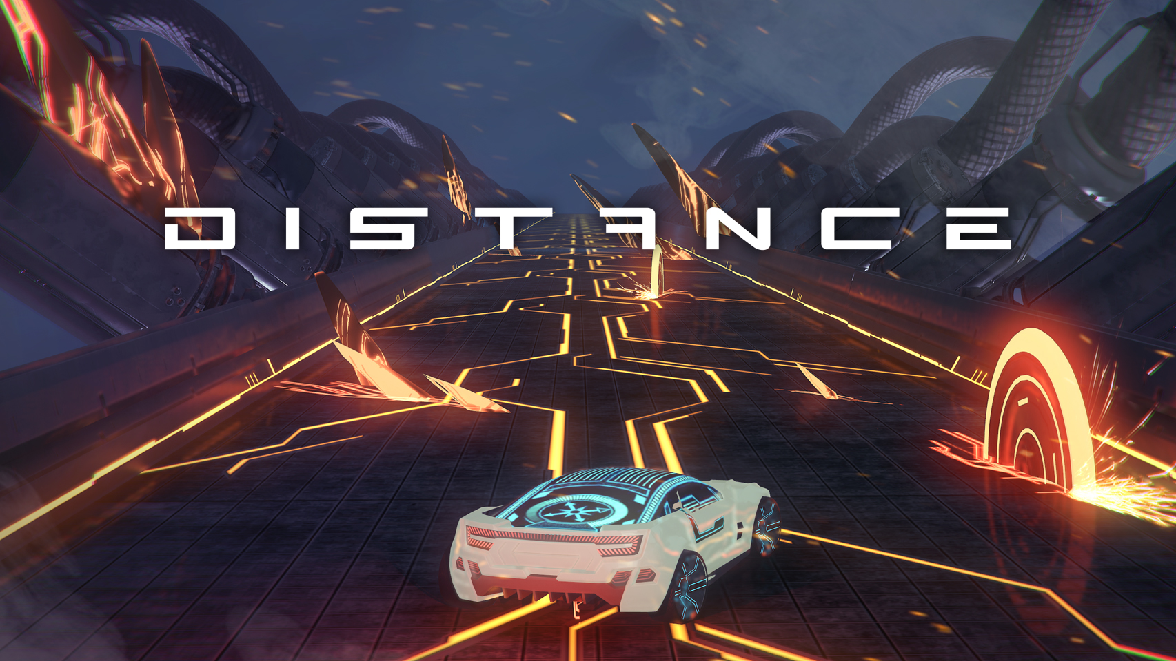 distance game ps4