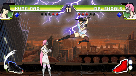 Divekick Trailer Screenshot