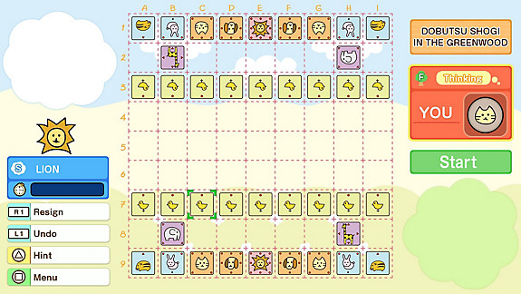 DOBUTSU SHOGI WORLD (LET'S CATCH THE LION!) - Screenshot INDEX