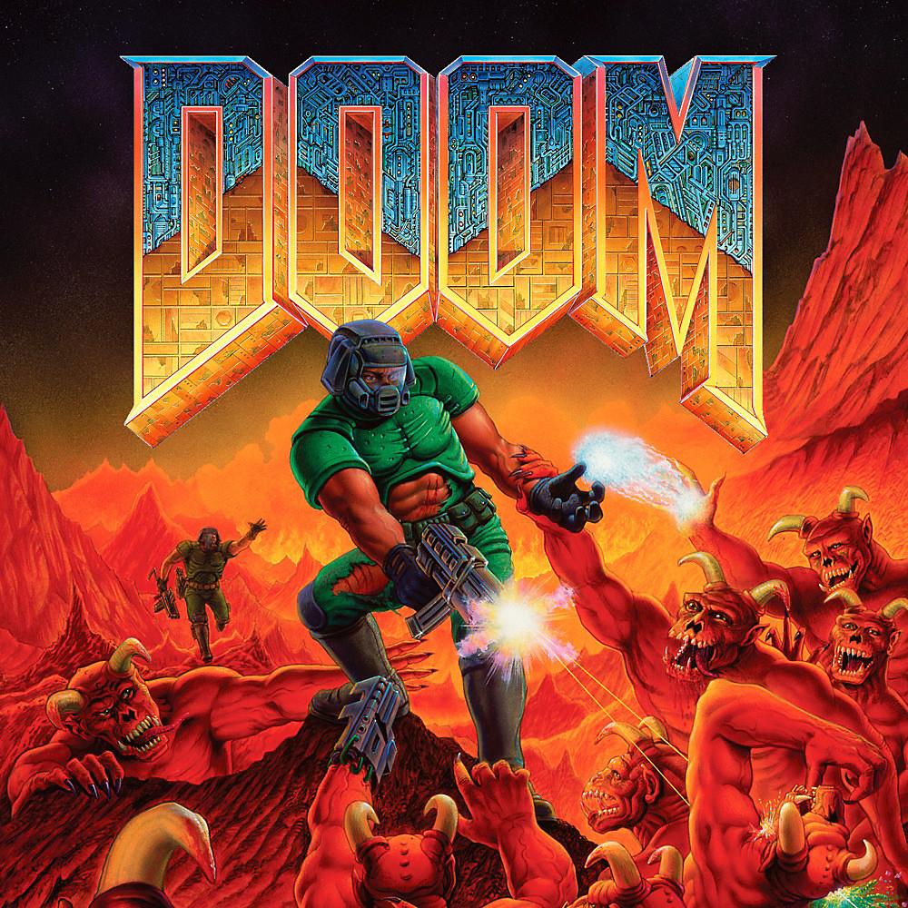 Doom 1 Cover Art