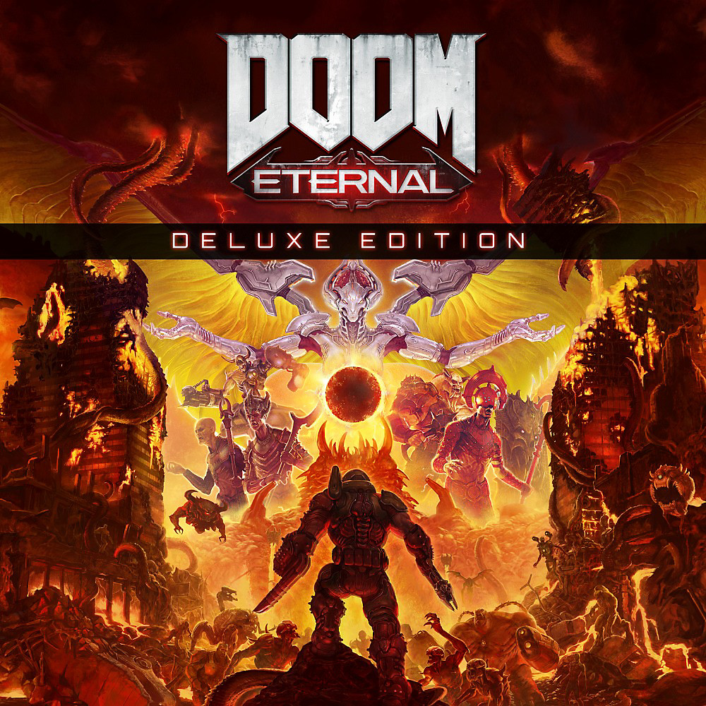 DOOM Eternal Deluxe Edition Art