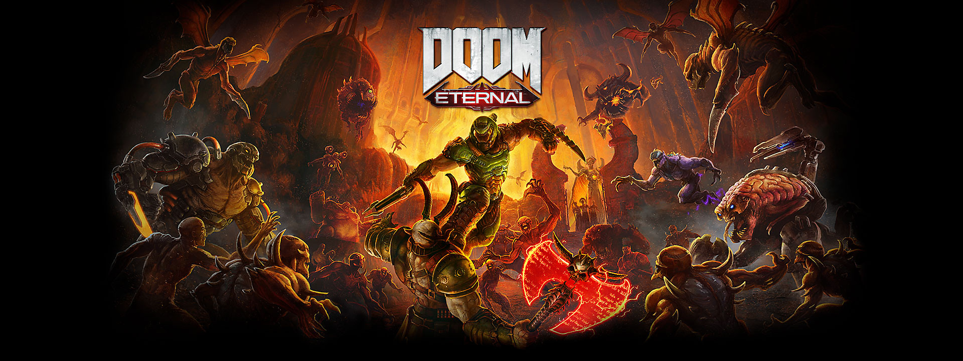 Estandarte de héroe de DOOM Eternal
