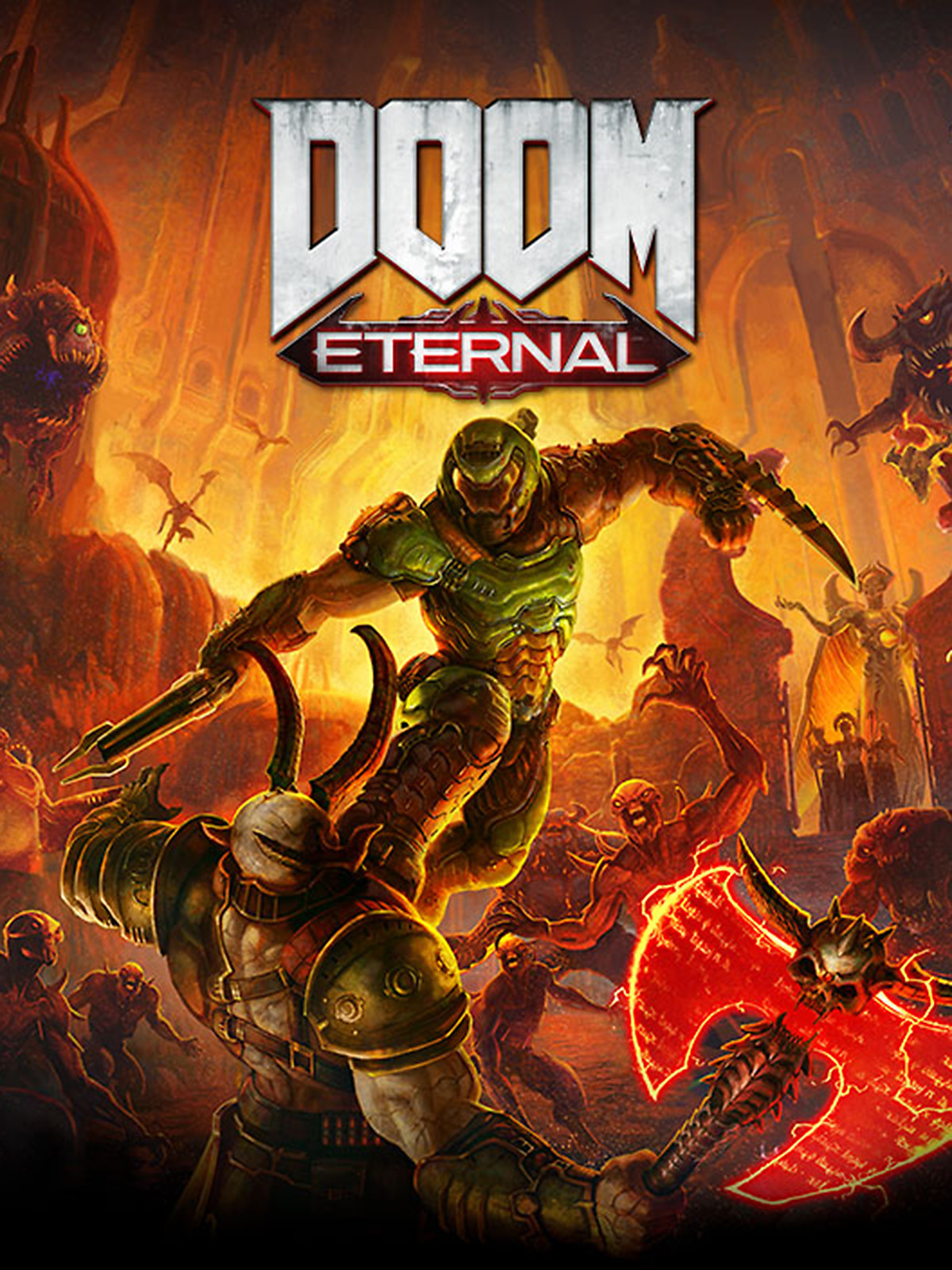 DOOM Eternal Poster Art