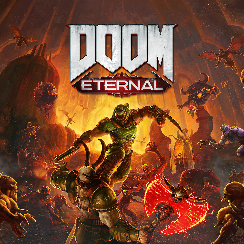 DOOM Eternal Standard Edition Art