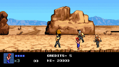 Double Dragon IV Trailer Screenshot
