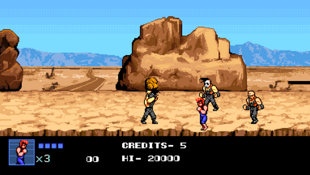 Double Dragon IV Screenshot 3