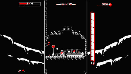 Downwell Trailer Screenshot