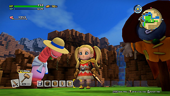 DRAGON QUEST BUILDERS 2 - Screenshot INDEX