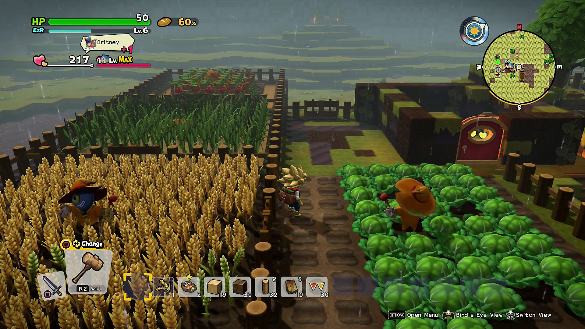 Dragon Quest Builders 2: captura de pantalla 2 de Detalles del gameplay