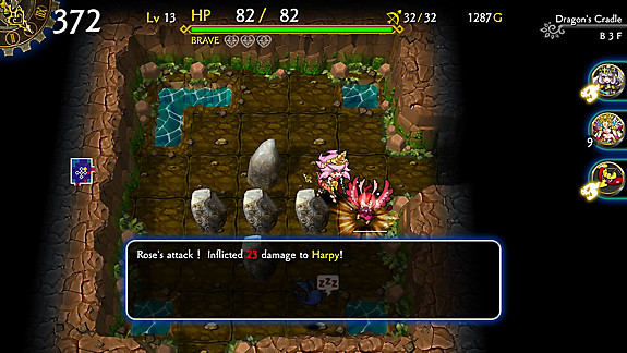 DragonFangZ – The Rose & Dungeon of Time - Screenshot INDEX
