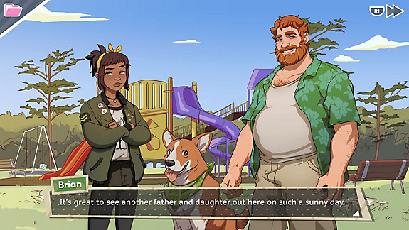 Dream Daddy: A Dad Dating Simulator - Screenshot INDEX