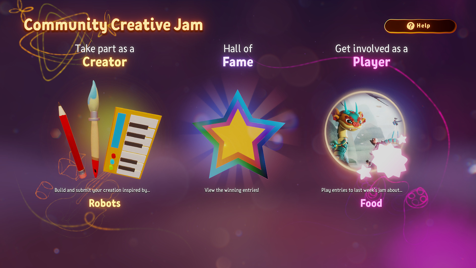 Community Jams Screenshot