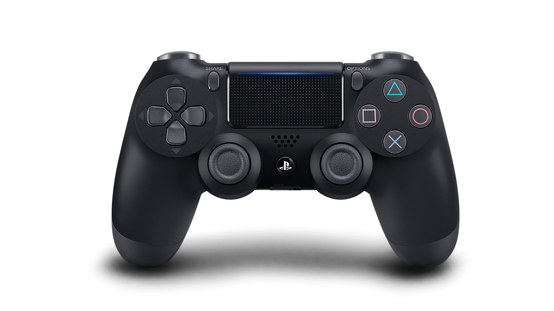 Jet Black DualShock 4 - PlayStation Accessories