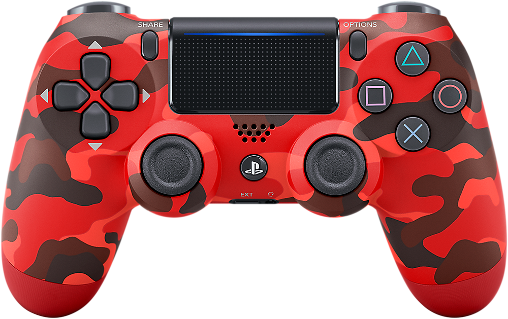 DUALSHOCK 4 - Red Camouflage Product Image