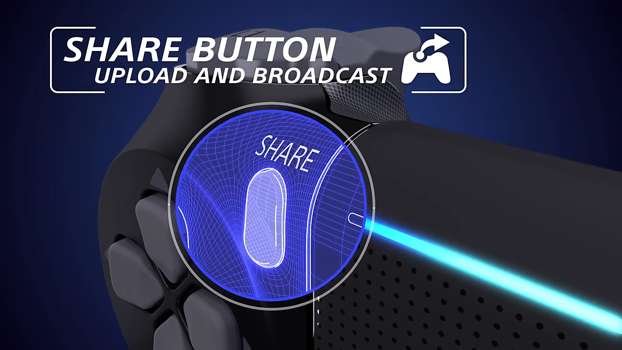 DualShock 4 Wireless Controller - Share Button