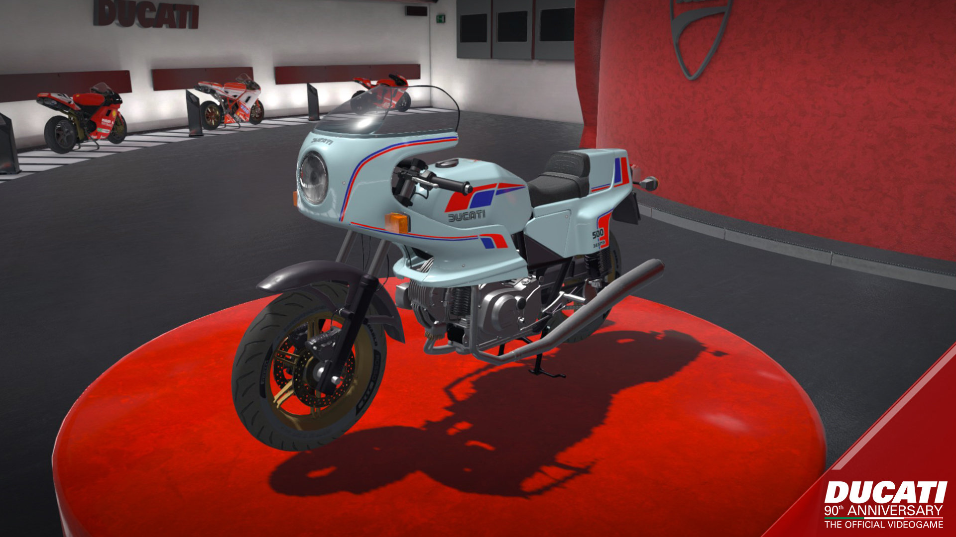 ducati - 90th anniversary game | ps4 - playstation