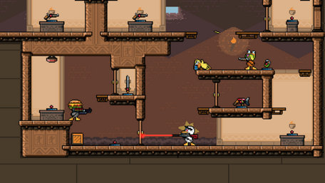 Duck Game Trailer Screenshot