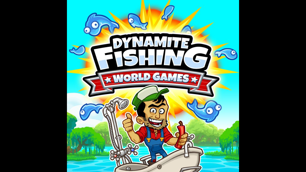 Dynamite fishing world games game ps4 playstation for Fishing world game