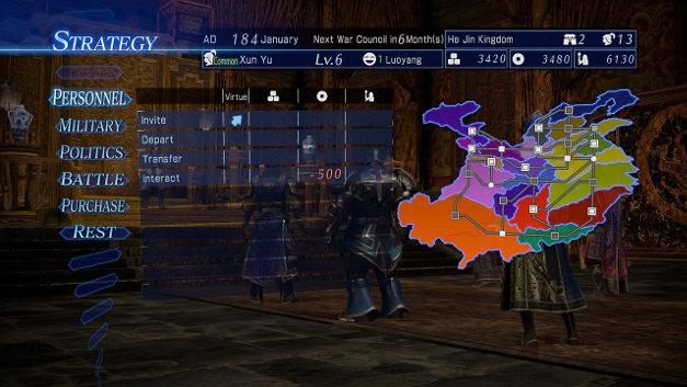 DYNASTY WARRIORS 8 Empires Screenshot 1