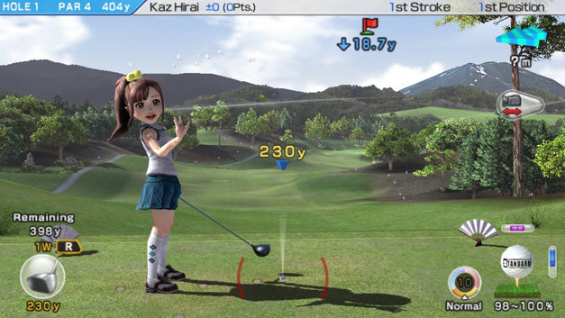 Hot Shots Golf: World Invitational Screenshot 4