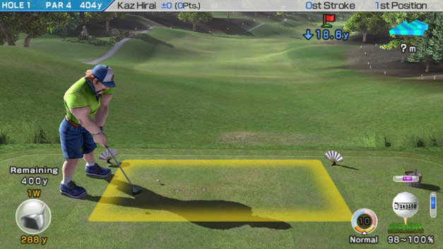Hot Shots Golf: World Invitational Screenshot 1