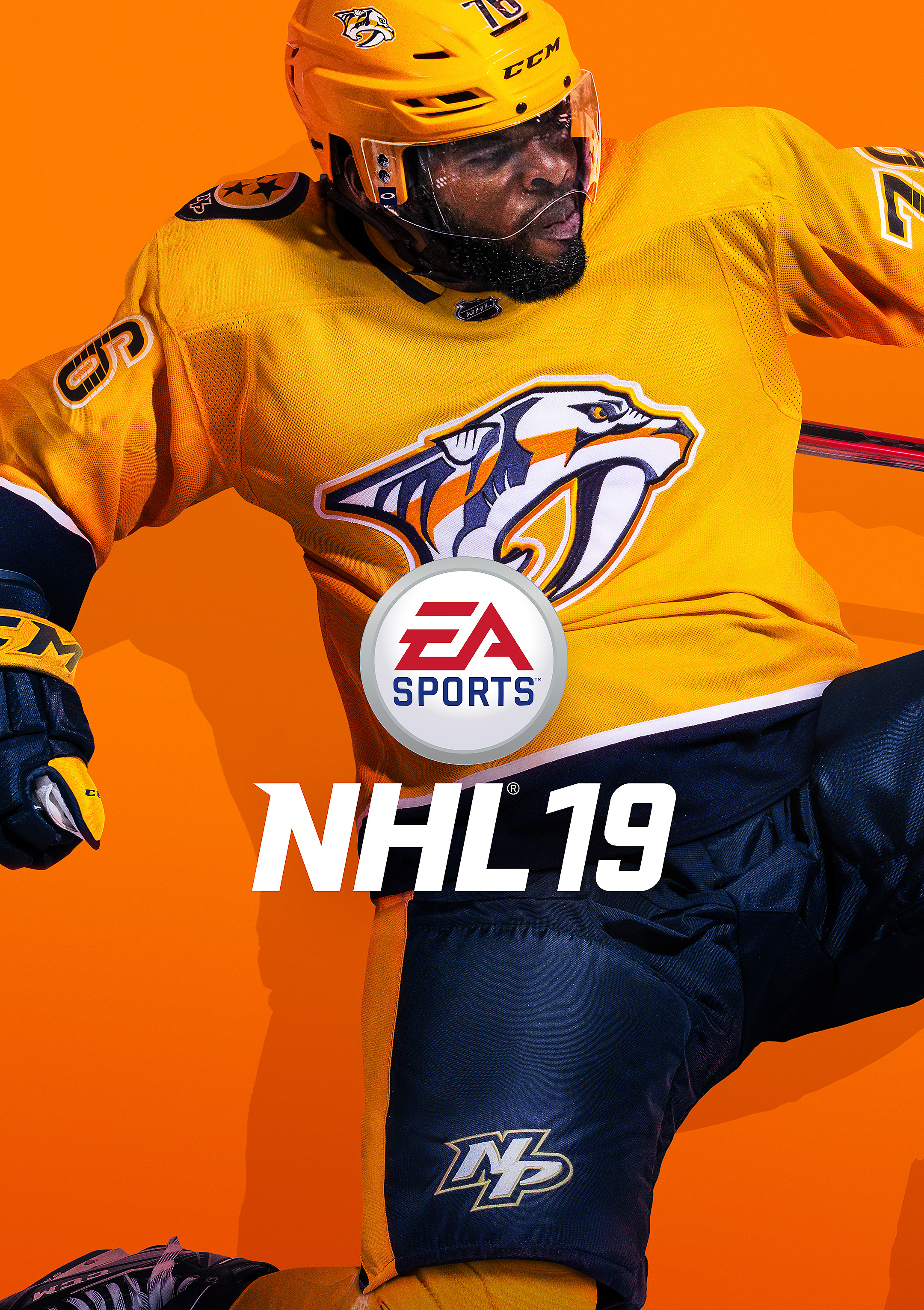 NHL 19 Standard Edition Box Art