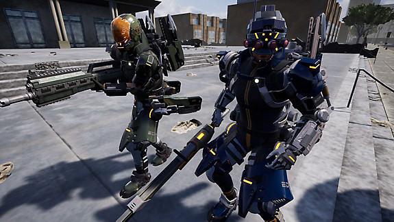 EARTH DEFENSE FORCE: IRON RAIN - Screenshot INDEX