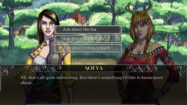 Echoes of the Fey: The Fox's Trail Screenshot 1