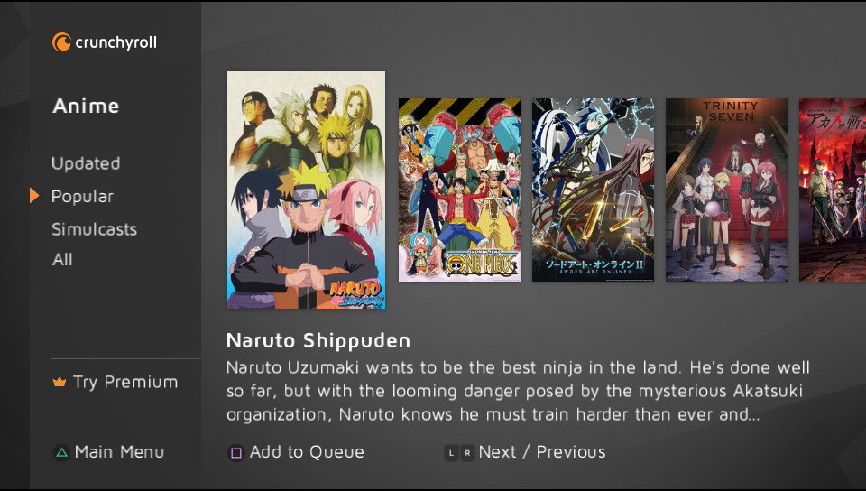 Image result for Crunchyroll Streaming Devices