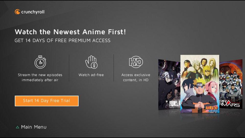 Crunchyroll App on PlayStation | PlayStation Network