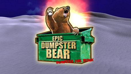 Epic Dumpster Bear: Dumpster Fire Redux Trailer Screenshot